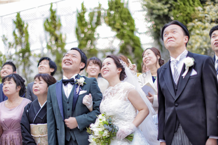 """【最新!ウエディングレポート】""""A wedding full of smiles """""""